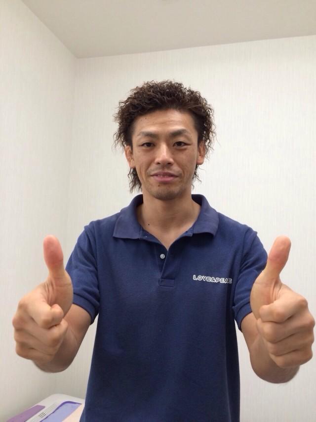 仕上がりです✂️ PEACE接骨院の岩井先生でした〜(*^_^*)