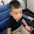 4歳の男の子です✂️  まだまだ暑いので☀️  ベリーショートモヒ風です✂️  賢く上手にしてくれました✂️✨