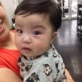 生後7ヶ月になる男の子です! 夏用にママの希望でスッキリツーブロックスタイルです!! 保育士も完備しているのでママも安心です(^-^)/