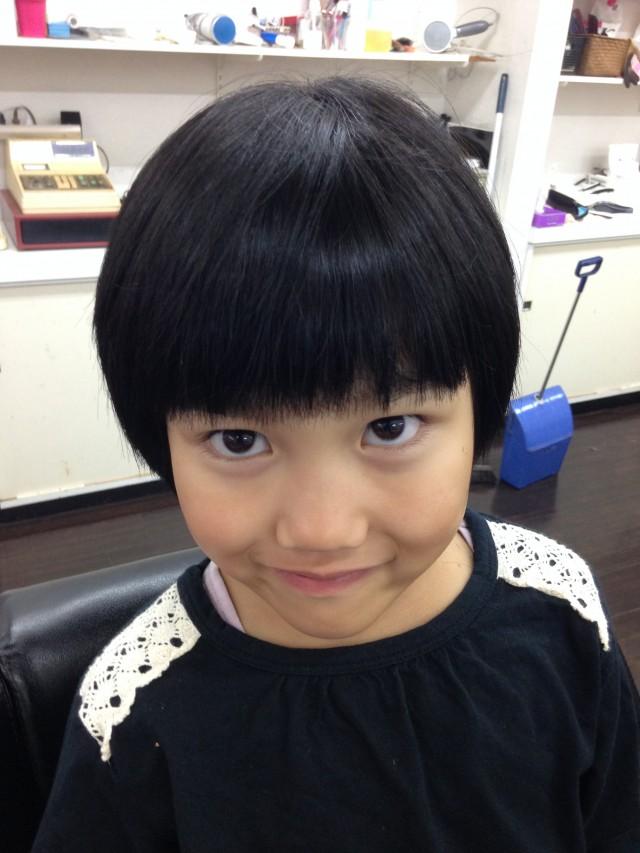 小学校のお姉ちゃんも可愛いくボブスタイルです!