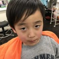 年長さんの6歳の男の子です。 発表会 卒園式 入学式に向けてさっぱりイメージちぇんです!!  どう変身したか見て下さいね(^-^)/