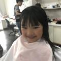4歳の、年中さんの可愛い女の子チャンです!!  カット シェービング でどう可愛いく変身したか乞うご期待(^-^)/  本人チャンも、嬉しいのかニコニコ笑顔です〜!!