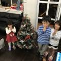 HIAR SPACE FORESTにも少し早いクリスマスが(^-^)/ ディスプレイをクリスマスバージョンにチェンジしてみました!!  サンタさんに子供達がお願いしてるそうです…