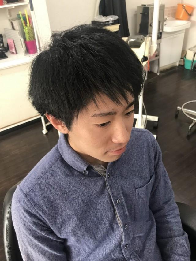 カット シェービング エステ 顔剃り 前のお写真です(^-^)/ どう変身するでしょう!?