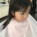 保育園 年少 さんの 3歳 の可愛い 女の子 が来店してくれました(^-^)/ カット シェービング   でどう大変身するとでしょう!?