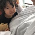 2歳の可愛い女の子チャンの 初カットです!! ママの希望は、のばしていきたいそうです(^-^)/