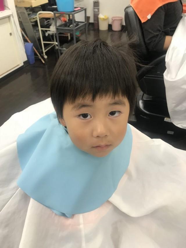 3歳 さんの男の子です。 カッコ良く 可愛く 変身しますよ(^-^)/