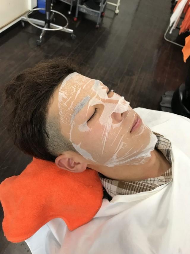 シェービング  顔剃り エステ パック て眉毛もお顔もきれに(^-^)/