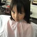 前髪カット に来店してくれた、可愛い女の子チャンです!! BeforeAfter見て下さいね。