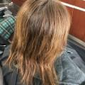 白髪もして、グレージュ イルミナカラー に変身します!!